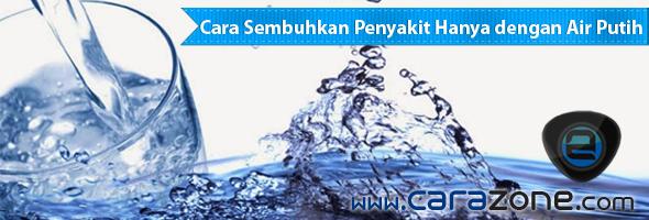 Cara Sembuhkan Penyakit Hanya dengan Air Putih