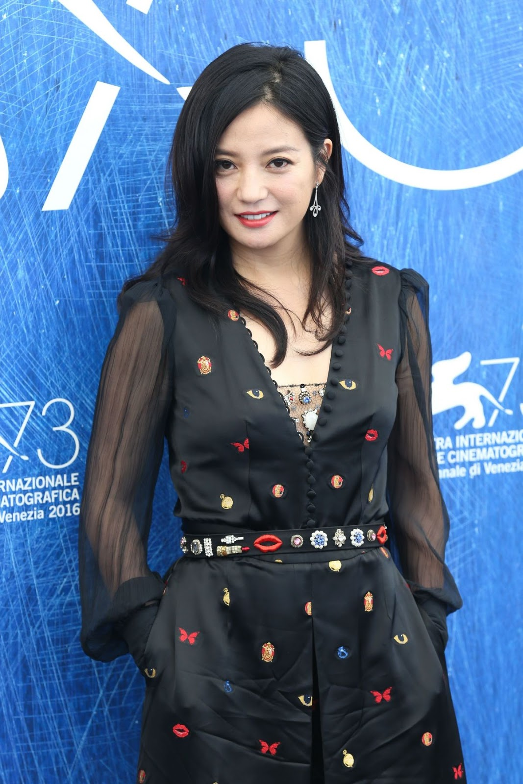 HQ Photos of Zhao Wei at 2016 73rd Venice Film Festival Jury Photocall in Venice