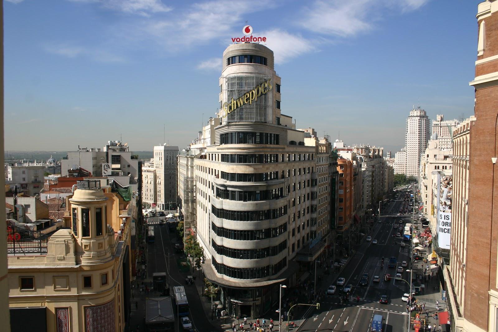 Madrid y sus rincones Edificio Capitol