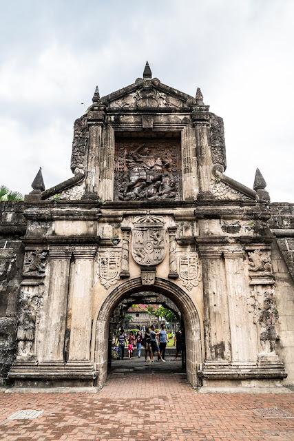 Fort-Santiago-Manille-Philippines