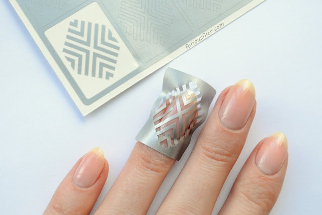nail mail art deco stencils review furious filer