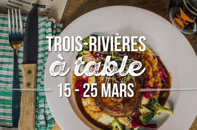Trois-Rivières à table, bouffe, expérience culinaire, foodie, restaurant