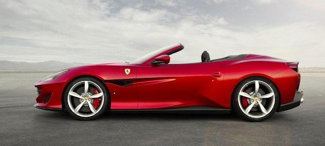 Mobil Ferrari Portofino (2018) Body Sporty dan Menawan