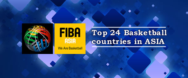 List of FIBA Asia Ranking Men as of October 8, 2015