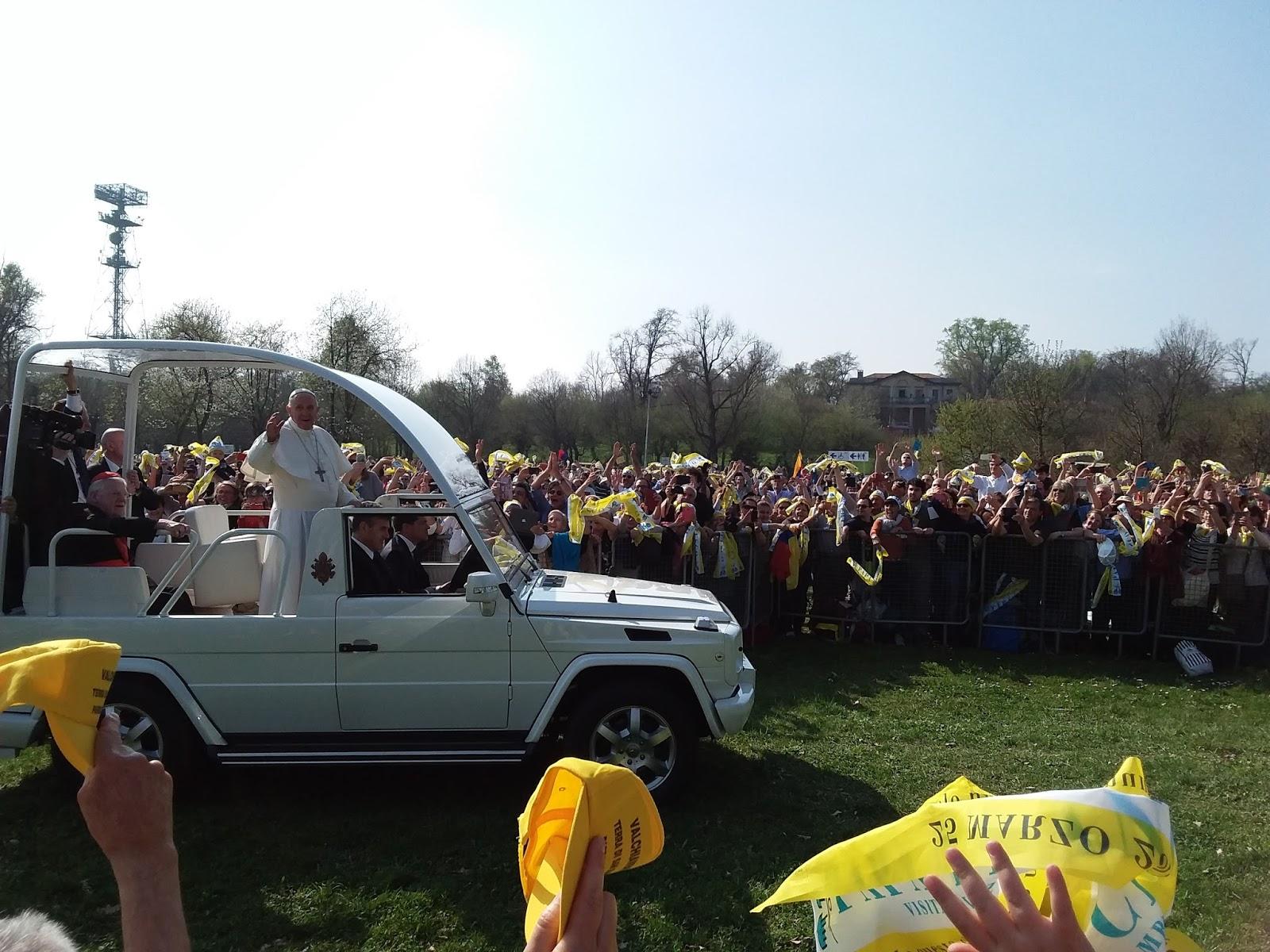 Testimoniando: io cero #17: a monza con papa francesco per