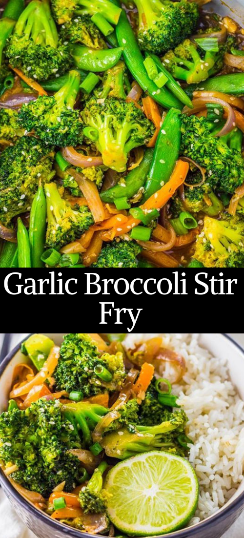 Garlic Broccoli Stir Fry