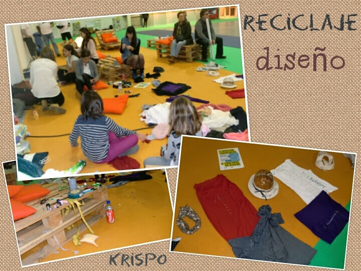 fotos de taller de diseño como collage