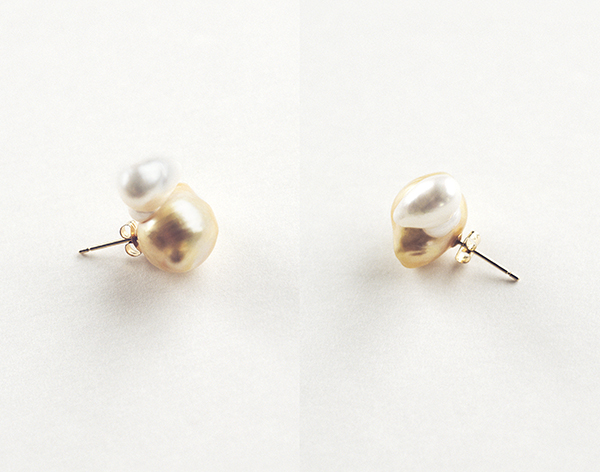 SU sujewelry スウ パール ピアス pearl  ケシパール earrings