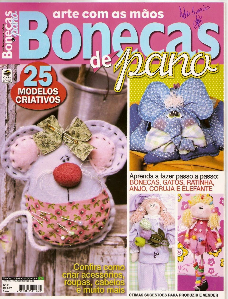 bonecas paso a paso revistas de manualidades gratis On paginas de manualidades gratis
