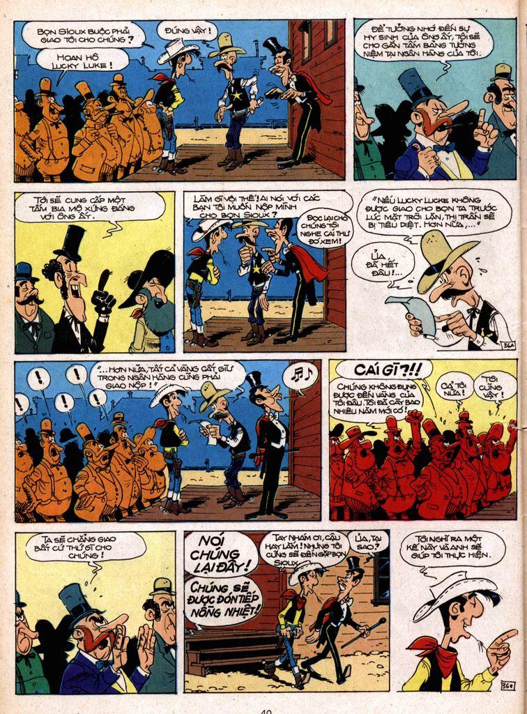 Lucky Luke tap 1 - ban tay nham trang 35