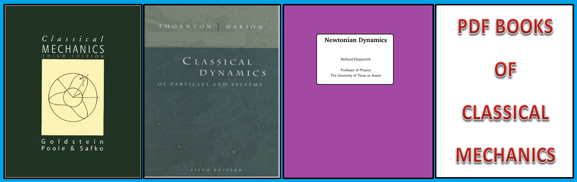 FREE PDF BOOKS OF CLASSICAL MACHANICS ~ House of Physics