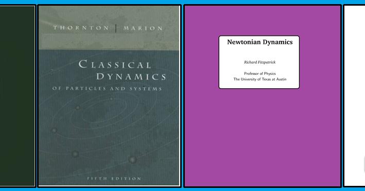 Pdf marion classical mechanics