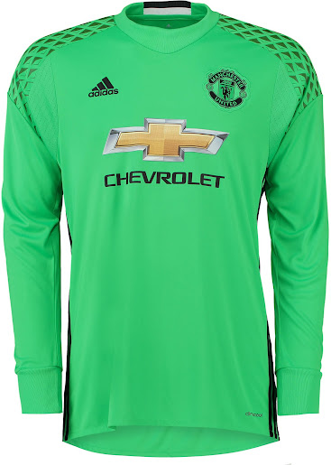 5a8511f23 Manchester United 16-17 Goalkeeper Kit Released - Footy Headlines