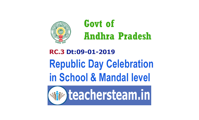Republic Day Celebrations 2019 in Schools