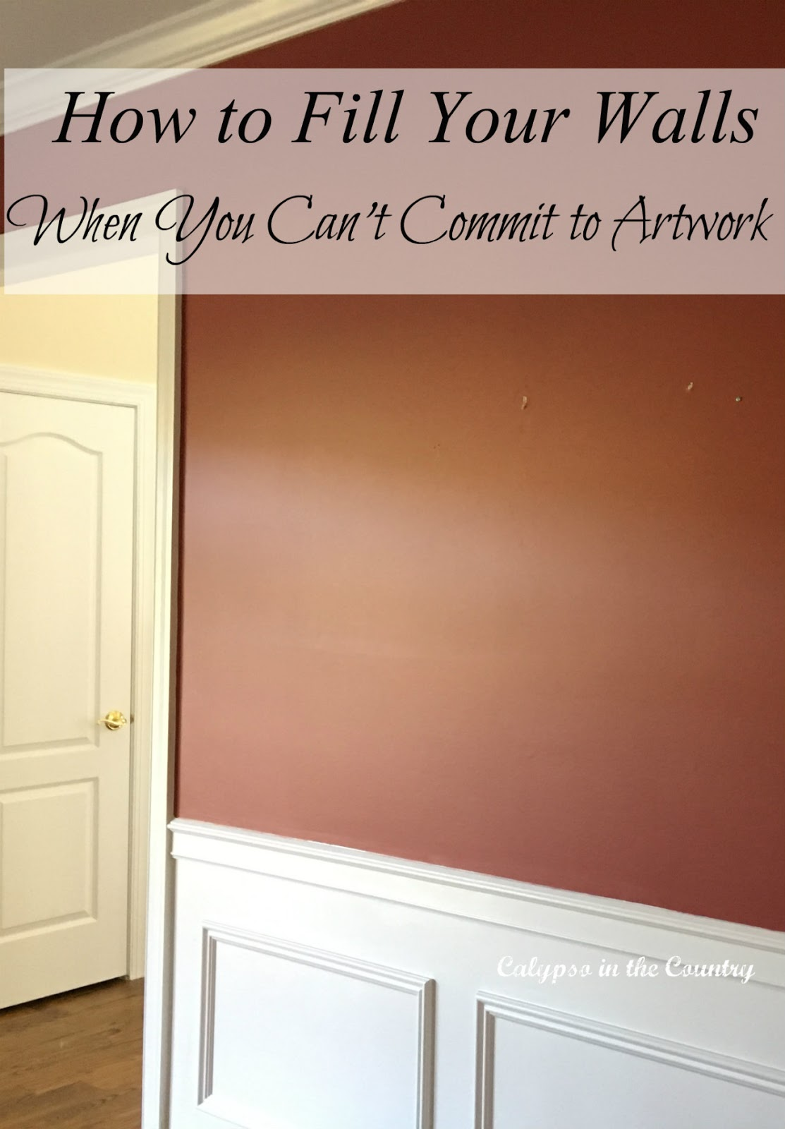 Easy decorating tip for artwork