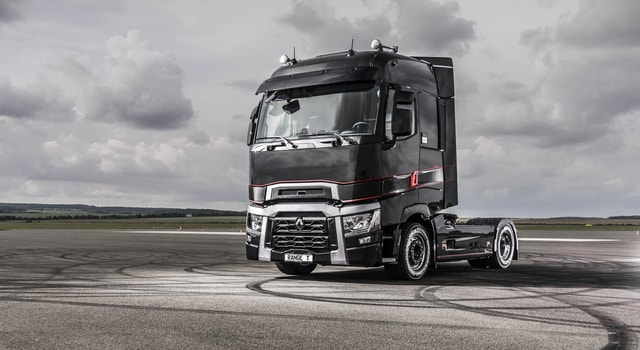 The German design award in the transport category goes to Renault trucks