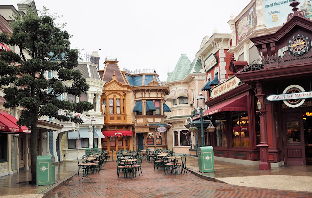 Disneyland Paris Main Street Cafe