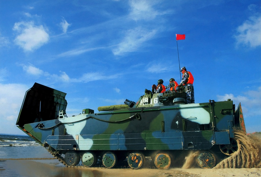 ZBD05 Tracked Amphibious Infantry Fighting Vehicle ...