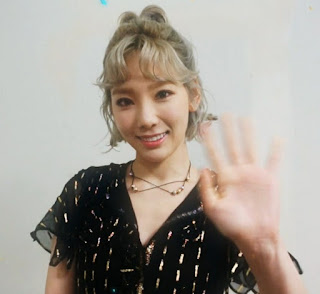 SNSD TaeYeon thanks fans after Rain's 1st win on Inkigayo! - SNSD