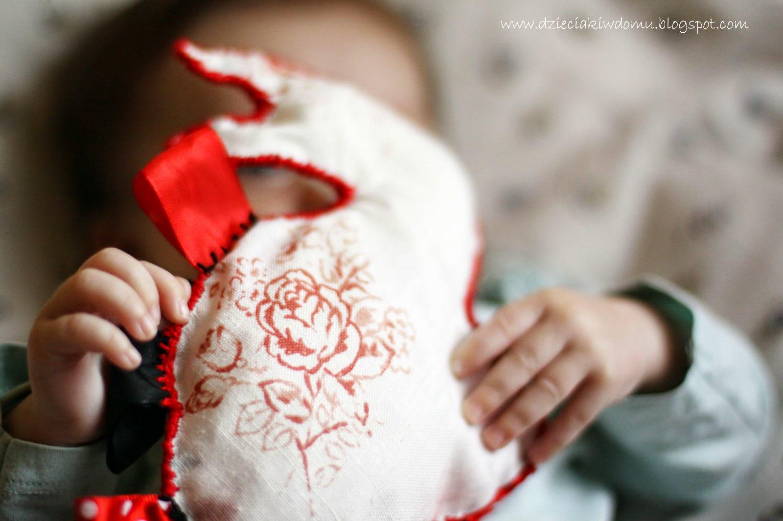 zajączek metkowiec - własnoręcznie uszyta zabawka dla niemowlaka