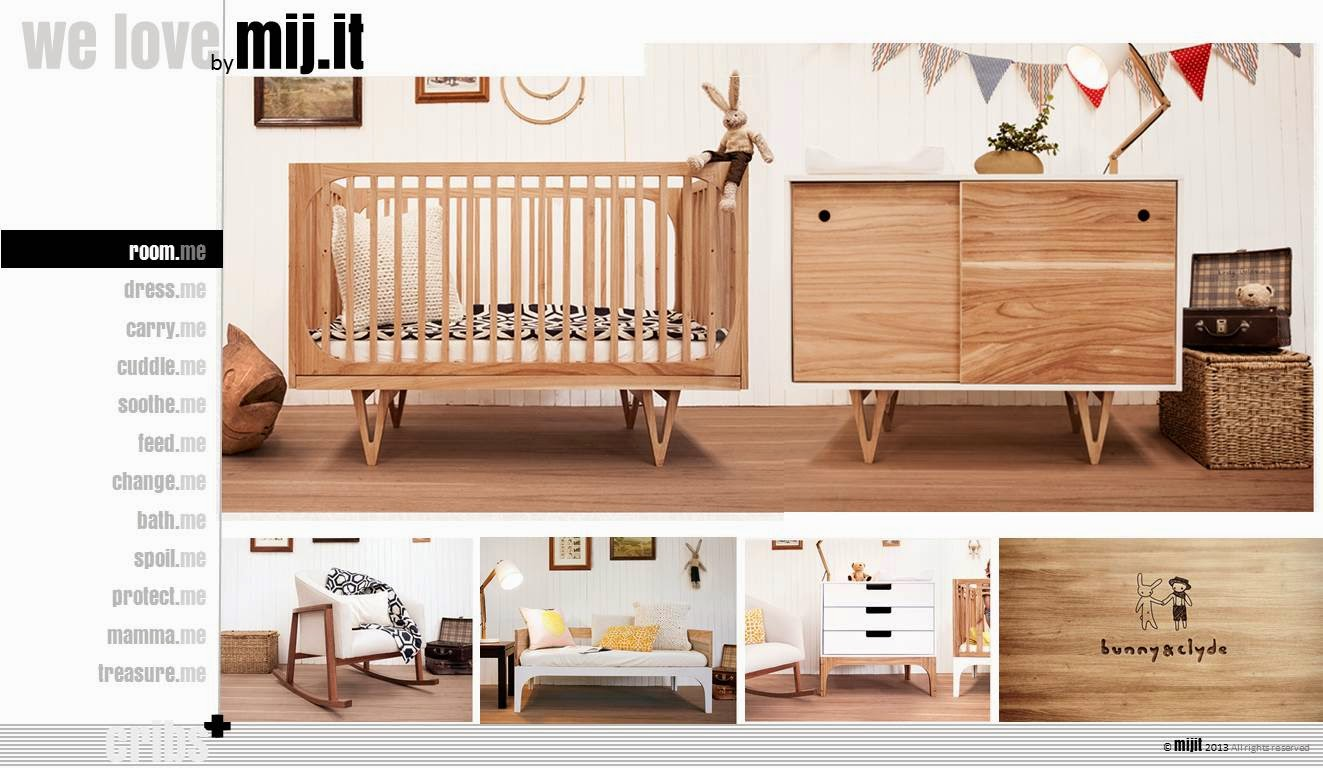 Mijit Loves South African Retro Baby Room Furniture By Bunny And Clyde