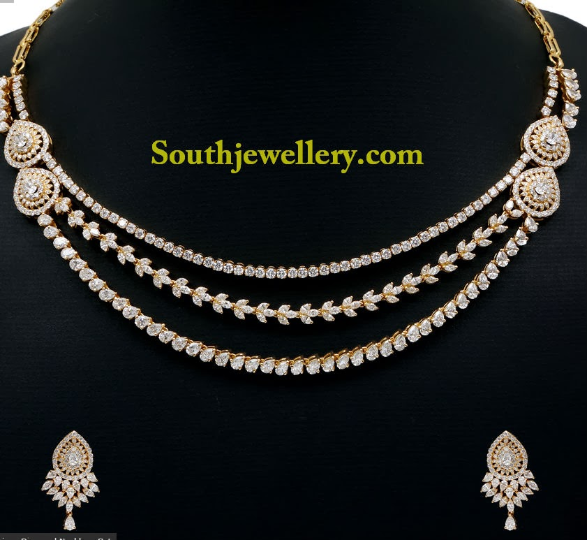 Diamond Necklace For  Lakhs
