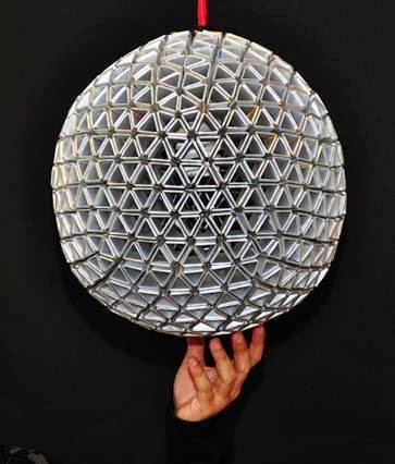 Create Unique DIY Lamp From Carton : DIY Craft ~ Unique ...
