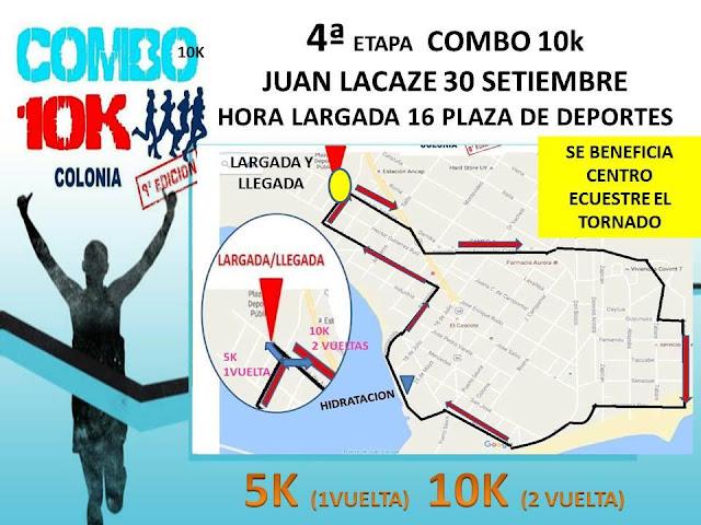 10k y 5k en Juan Lacaze (Combo Colonia, 30/sep/2017)