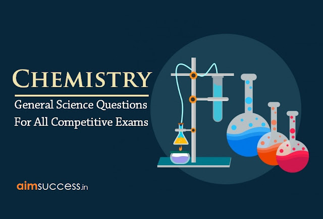 Chemistry Questions for RRB ALP & TECHNICIAN 2018