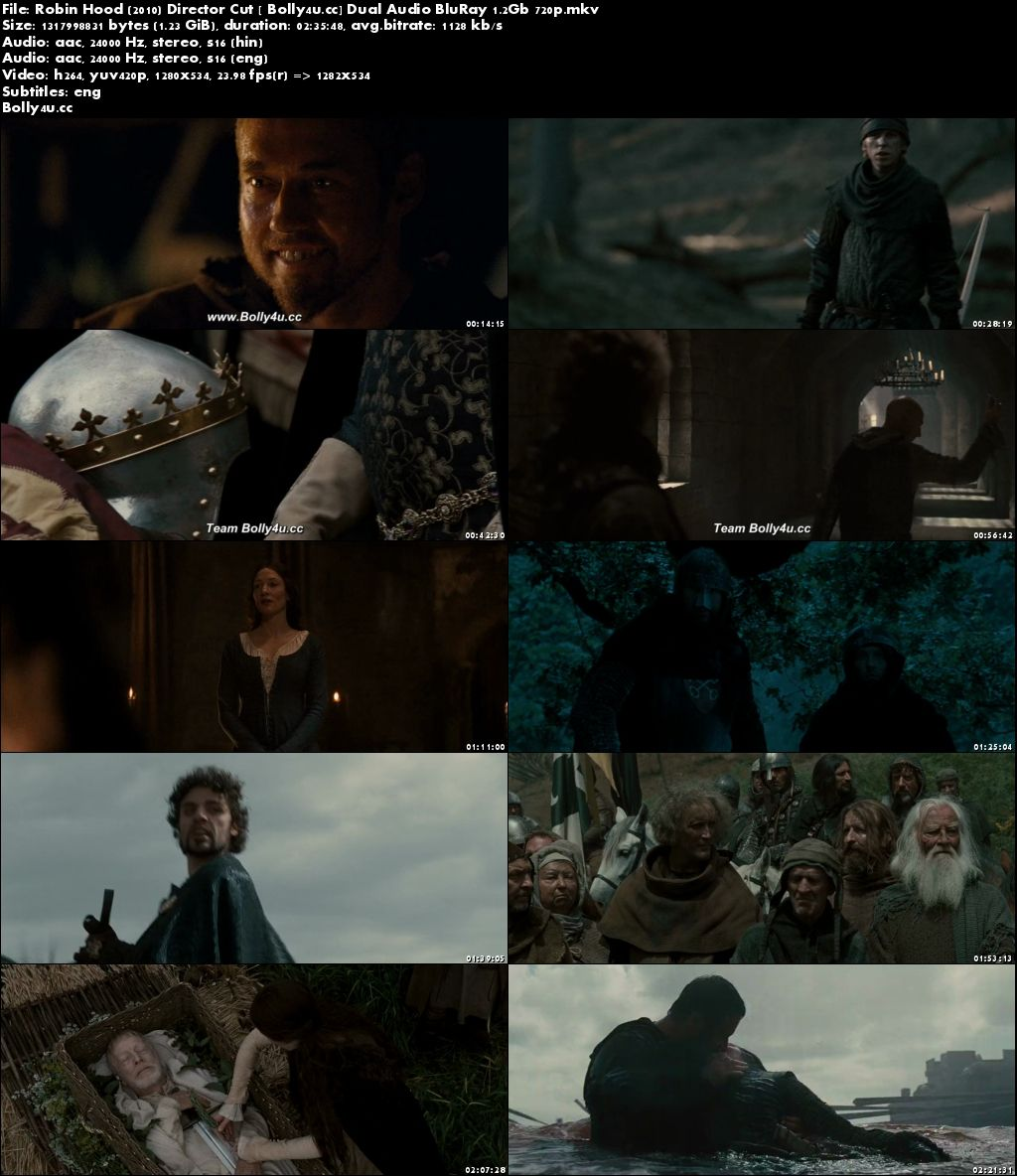 Robin Hood 2010 BluRay 500MB Director Cut Hindi Dual Audio 480p Download