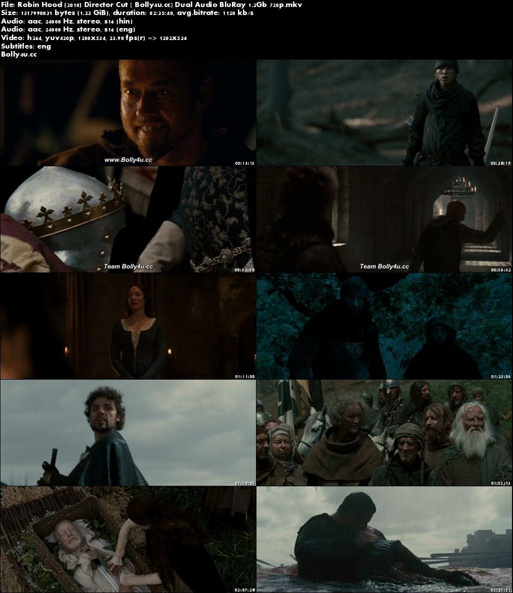 Robin Hood 2010 BluRay Director Cut Hindi Dual Audio 720p Download
