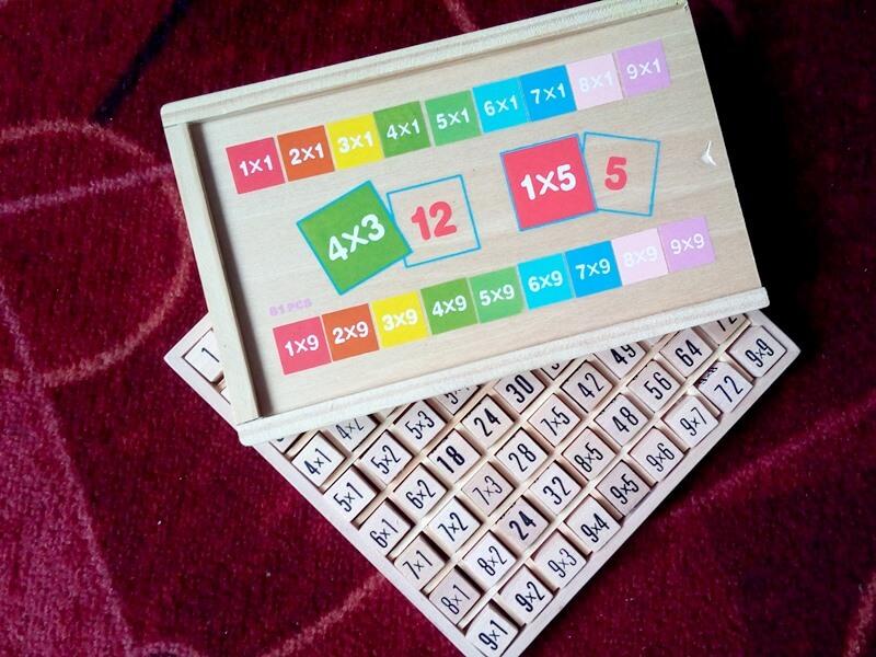 tabliczka mnożenia dla dzieci