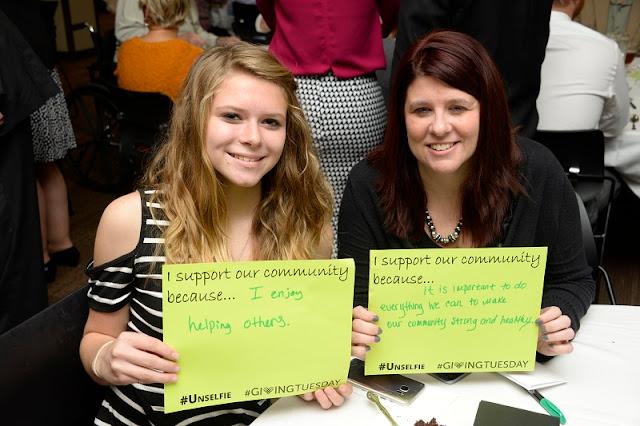 Alexa Shrake, IU Morgan Cancer Center and Relay for Life Volunteer. Kristinia Love, Morgan County Substance Abuse.