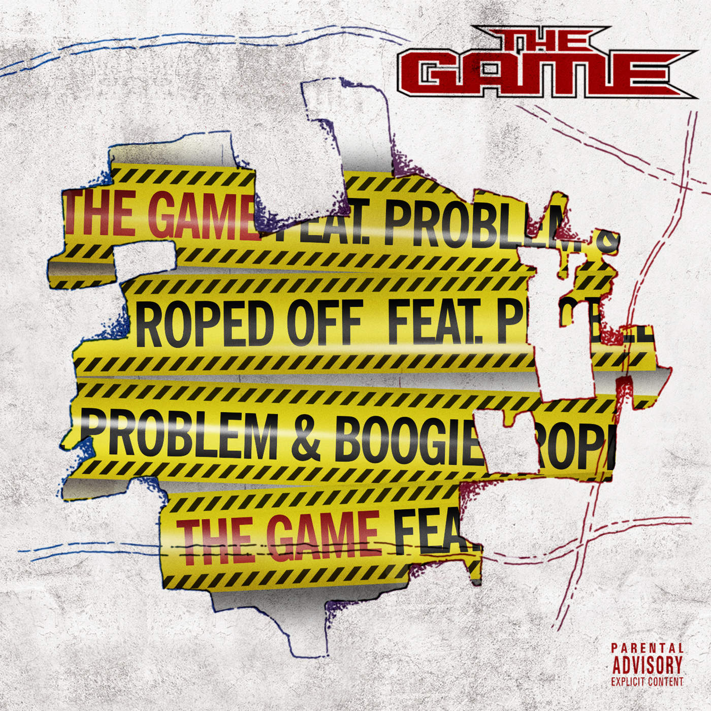 The Game - Roped Off (feat. Problem, & Boogie) - Single Cover