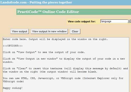 20 Online Code Editors that make developers life easy
