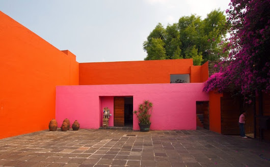 Pink is fun! ♥ Pink architecture, pink interiors - contemporary and historical examples | ♥♥♥ VALENTINE'S DAY