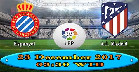 Prediksi Bola855 RCD Espanyol vs Atletico Madrid 23 Desember 2017