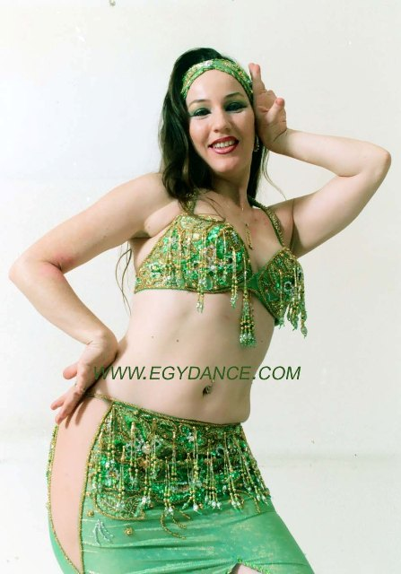 0ad657f5b Green belly dance costume 0016