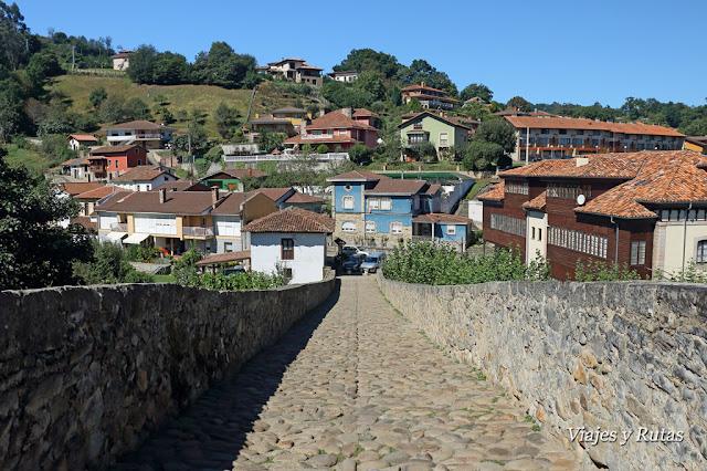 Calzada del Puente romano de Cangas de Onís, Asturias