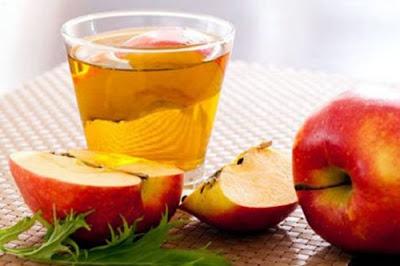 trị tàn nhang trên mặt bằng giấm táo