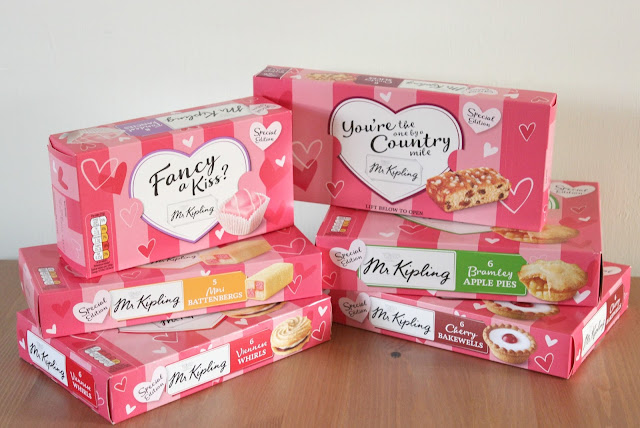 Sweet Treats for Valentine's Day with Mr Kipling