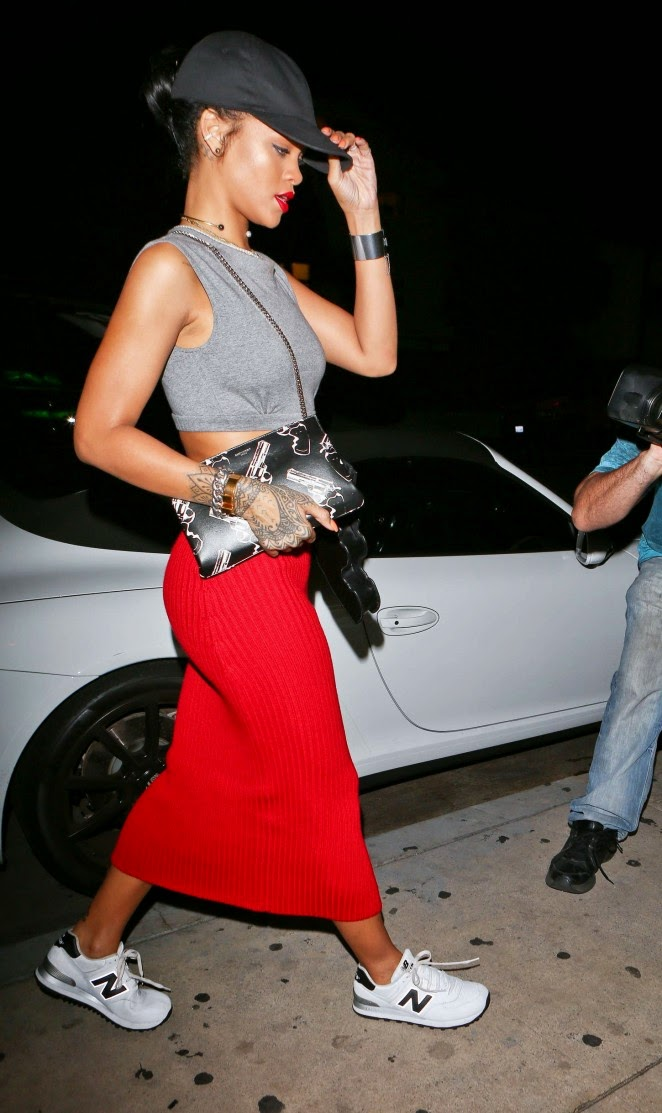 Rihanna flaunts controversial gun shaped cross-body bag out and about in Santa Monica