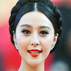 Foto Fan Bingbing Menggunakan Makeup
