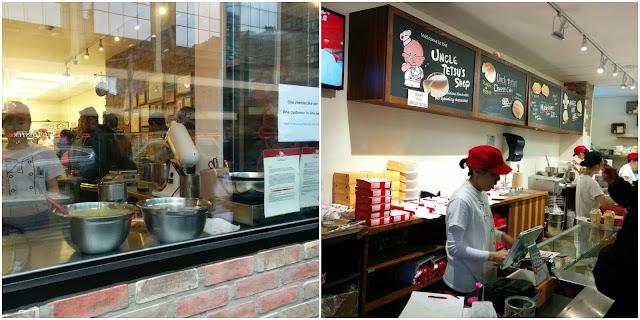 Uncle Tetsu's cheesecake, Toronto