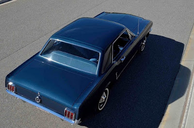 1965 Ford Mustang Prototype Rear Top