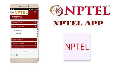 Nptel App|Nptel Online Courses App