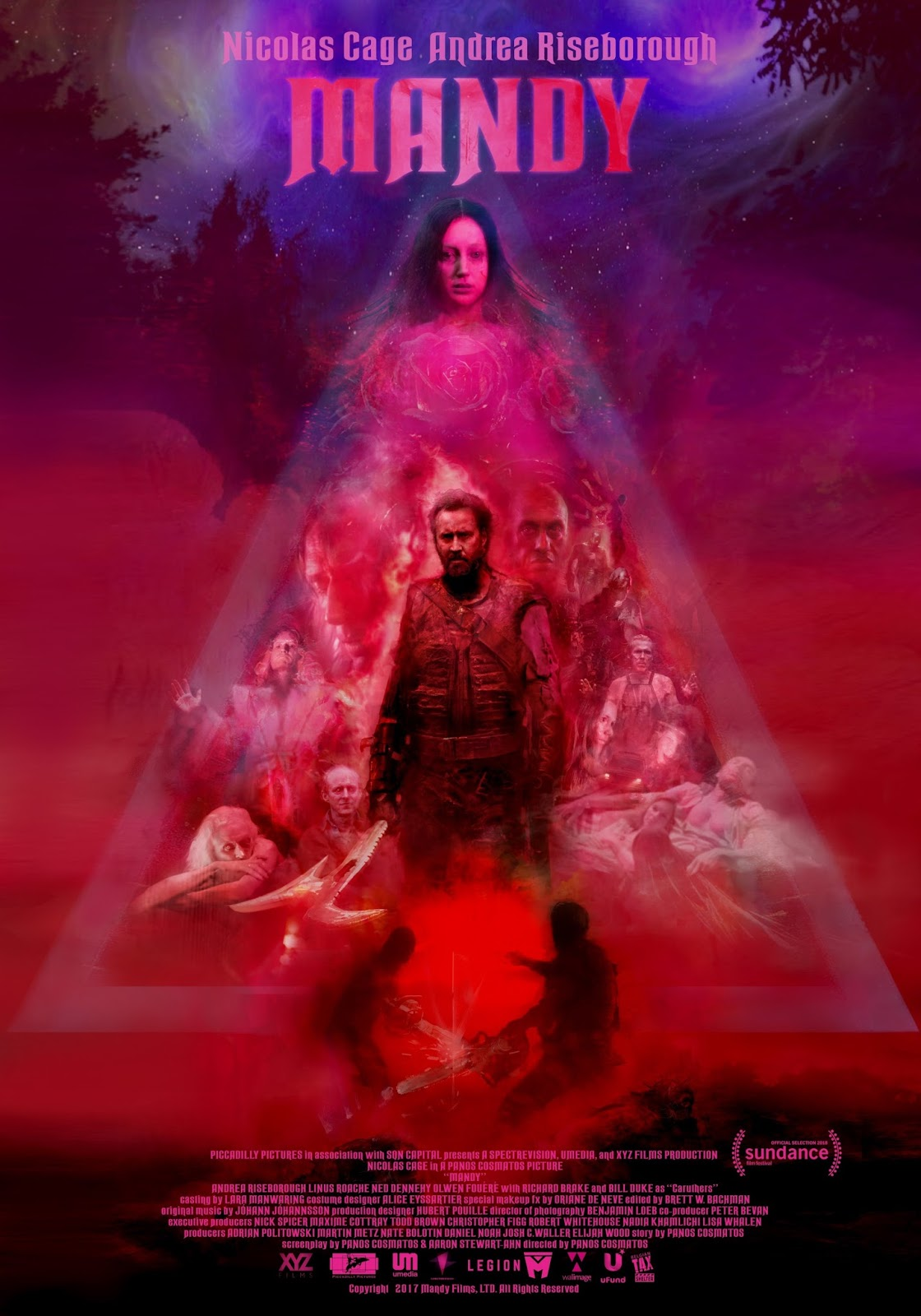 Trailers: The Bloody Horror Film Mandy Starring Nicolas Cage