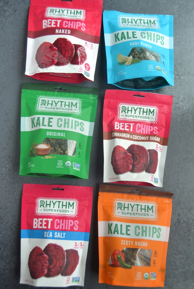 Rhythm Superfoods Beet and Kale Chips
