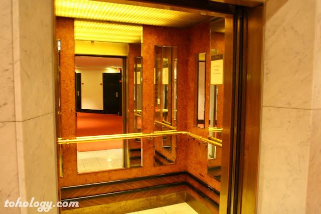 elevators at Crowne Plaza Helsinki