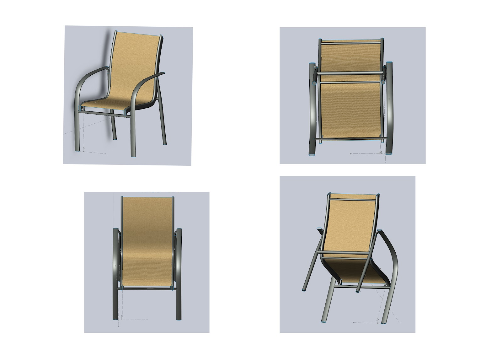 chair design solidworks hire covers cheap hd3d002 furniture research part b cad drawing